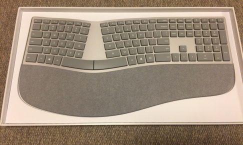 Surface Ergonomic Keyboard全体写真