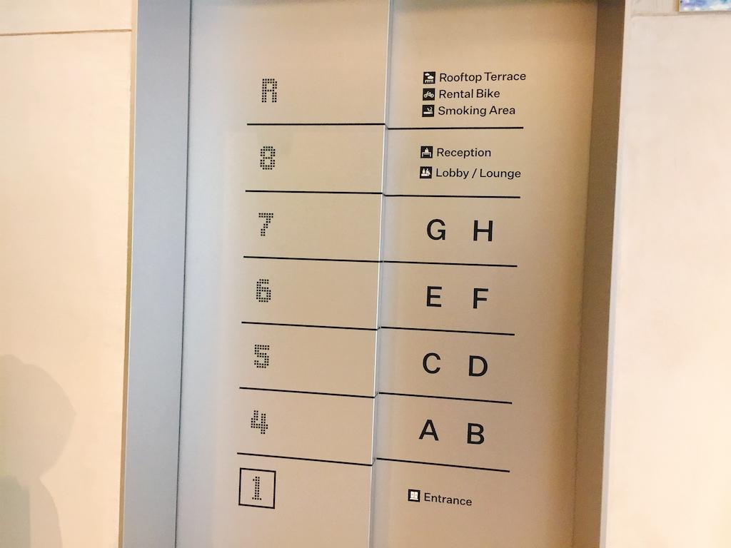 ミレニアルズ京都 エレベーター