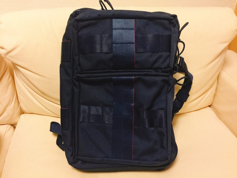 "「BRIEFING×BEAMS PLUS / 別注 ""3WAY BAG""NAVY」"