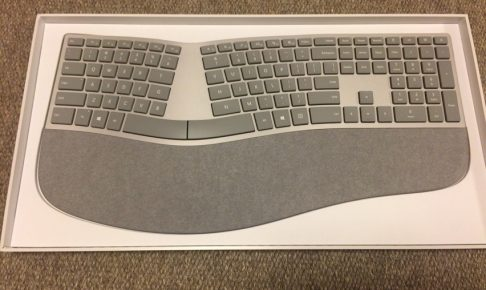 Surface Ergonomic Keyboard全体写真