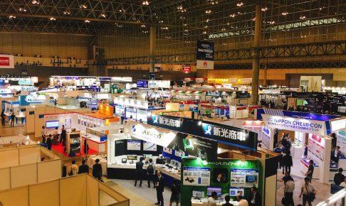CEATEC2017会場写真