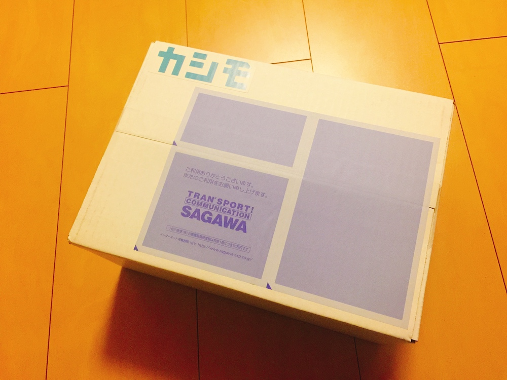 カシモWiMAXの箱