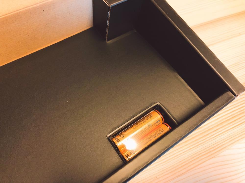HHKB(PD-KB600B)の付属電池