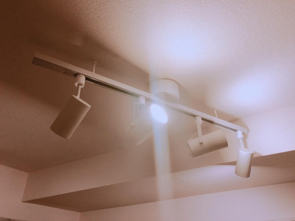 無印良品のスポットライト(システムライト)を購入