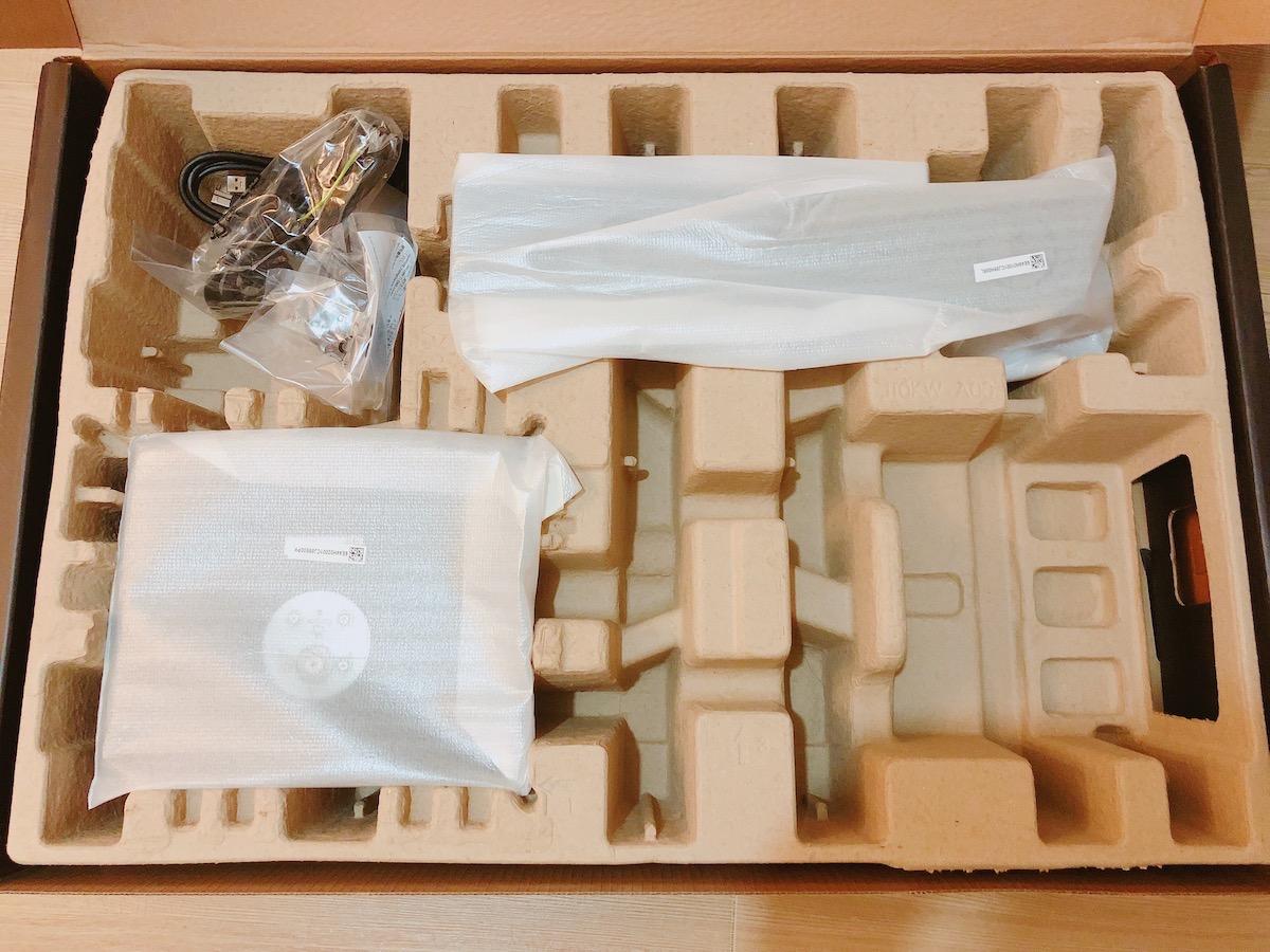 U3219Qの箱の中身