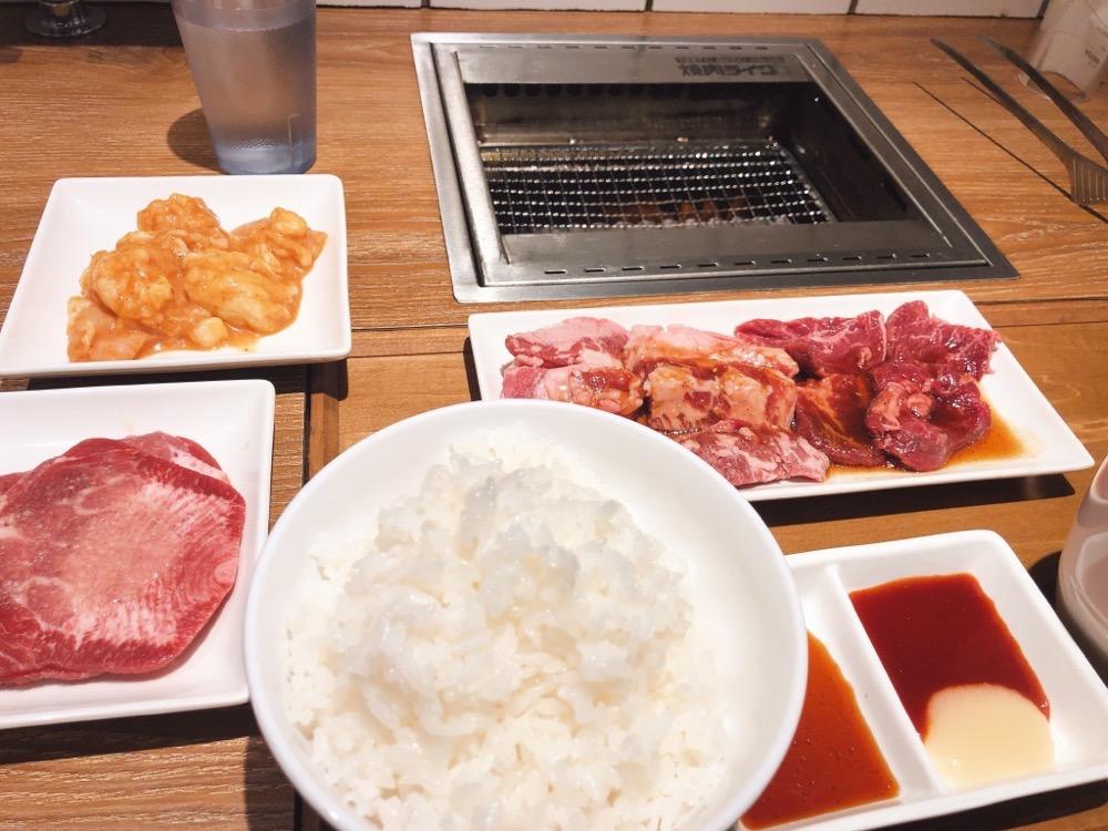 焼肉ライクのお肉